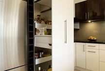 Smashing Storage / Innovative new kitchen storage ideas improve the flow of you workspace and make organisation a dream.