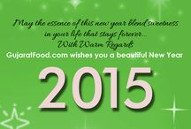 Happy New Year 2015 / GujaratFood wishes Everyone a Very Happy & Prosperous New Year