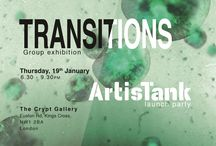 Transitions - Private View and ArtisTank Launch / Transitions exhibition private view January 19th