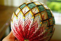 Temari balls for kids