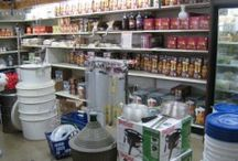 Home Brewery / Foreman's General Store has all the supplies you need to brew from home.