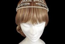 War and Peace Headpieces / Taking inspiration from the BBC adaptation of War and Peace, a collection of one-off vintage Regency bridal headpieces
