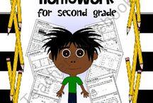 Second Grade Homework Ideas