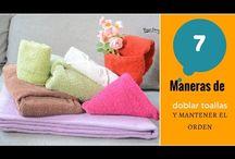 toalhas,como dobrar