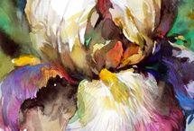 Rysowanie/malowanie kwiatów