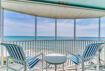 """Brevard County Oceanfront Condominiums / Some of the most affordable oceanfront properties in Florida are located here in Brevard County, often referred to as """"The Space Coast"""" home of NASA's Kennedy Space Center. Enjoy your visit!"""