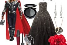 Avenger inspired outfits / Dresses that are Disney bound inspired by the avengers
