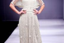 crochet mesh dresses