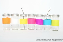 Eco Sleeves / Available at www.thepintandahalf.com! Works great with The Pint and a Half 24-ounce drink jar, provides grip and protects hand with hot drinks or keeps hand dry from condensation on iced beverages.  Discontinued product, and some colors are running out fast, so order yours soon!