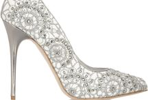 Shoes in Silver and Shades