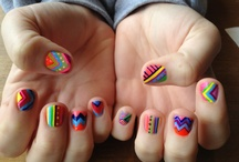 nails and hair and other girly things. / by Hannah Silver
