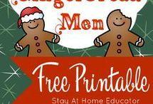 Gingerbread men art ideas