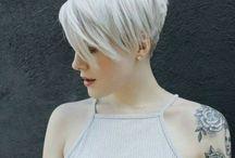 Pixie-hiukset