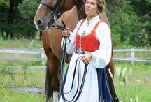 Norwegian folklore & Costume /Norske bunader og folkedrakter