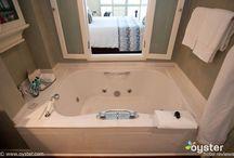 Master Bath / bathroom / by Emma Froelich-Shea