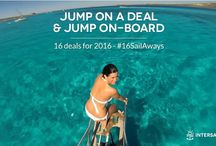 #16SailAways 2016 / Sail away on one of our 16 deals for 2016! Intersailclub is about to reveal the best ways to #travel to some of the hottest destinations of the year. #16SailAways intersailclub.com