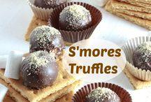 S'more truffels