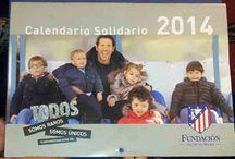 Presentación Calendario Solidario / Presentación del calendario solidario del Atlético de Madrid http://www.todossomosraros.es/acciones-difundelas/item/compra-el-calendario-solidario-del-atletico-de-madrid.html