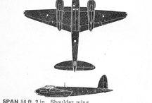 Mozzie / de Havilland dh98 Mosquito.  Images, both original & reconstructions