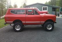 Riding in Style / My dream car is a 66-77 Bronco completely restored.  / by April Bobbish