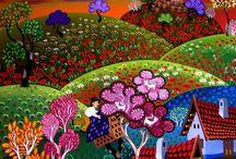 Lukisan mix