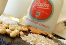 Thermomix Nut Milk recipes / Thermomix recipe ideas for non-dairy milks such as coconut milk, almond milk, rice milk, oat milk, and...