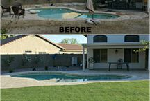 Yard Makeovers | Before and After / Everyone loves a makeover!