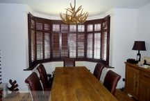 Bay Window Shutters / We love Bay Window Shutters, come and take a look at some of our custom made shutters we've designed for our Window Shutters in London Sussex Surrey