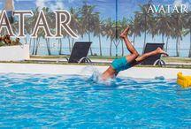 Piscina Avatar Lounge & Ballroom