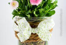 spring decorations DIY & jarní dekorace / spring decorations for the home, DIY, ideas, crafts, handmade & jarní dekorace do bytu, zahrady, nápady, tvoření,