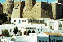 Patmos Monuments & Local Sightseeing / One of the most significant monuments on Patmos, towering above the whitewashed houses of the town of Chora and visible from any part of the island.  http://goo.gl/aVFFn2