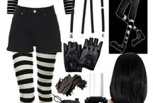 LJ costumes & makeup