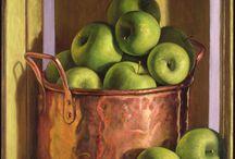 fruit paintings