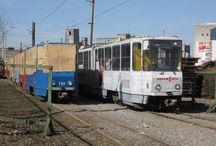 Поезда, трамваи - метро