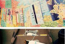 Around the world / volta ao mundo / by Ilana Mendonca