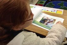 CritterKin and MJGDS / There's nothing quite like spending time with second graders exploring the theme of kindness. Join the fun as MHGDS second graders meet Ricky Bobby, draw and write stories to help rescue dogs find their forever homes.
