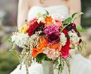 Garden colorful wedding