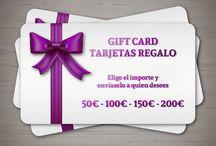 Ofertas, Regalos y Promociones / Ofertas, promociones, tarjetas regalo y vales descuento para nuestra tienda online