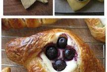 Декорирование булочек, пирогов
