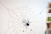 Halloween decoration inside