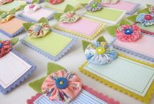 Quilted Name Tags / Tutorials, patterns, and inspiration for homemade quilted name tags. Get inspiration for a name tag to wear to your next quilt guild meeting!
