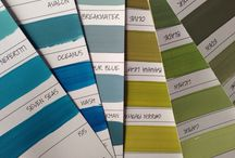 Green by Porter's Paints / 緑のカラーコーディネートを集めました。
