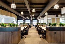 Modern Office Design + Lighting