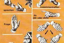 Indianische Schriftzeichen