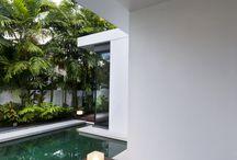 piscinas con tarima de madera