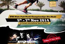 WWA Wake Park World Championship Abu Dhabi / The event of the year is coming to Al Forsan Cable Park from 5-7Nov2014 -The WWA Wake Park World Championships Abu Dhabi -Enjoy the fun filled closing party with The best UAE resident DJ's on Nov 7th- BUY your tickets NOW at www.TixBox.com @alforsan_resort
