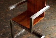 sandalye metal