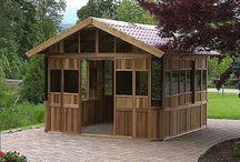 Abris & Gazébos / Piscines Perrin s'occupe de tout, de la conception à l'installation de votre abri ou gazébo ! #jardin #déco