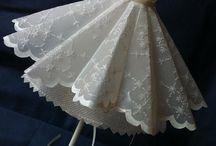 Pergamano  jurken en hoeden / jurken en hoeden
