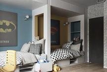 Sypialnia dla rodzeństwa / Bedroom for two kids